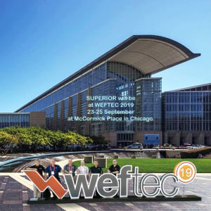 Superior, WEFTEC, Gas chlorinator, hydro, Liquid feed, chemical feed, chlorination, instrumentation, water treatment, wastewater, analyzer, amperometric, colorimetric, hach, mccormick place,